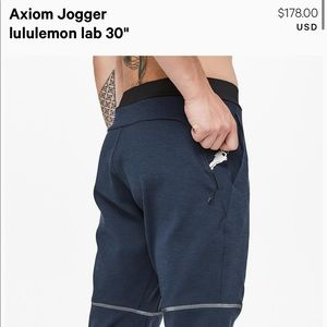 Men's Lululemon Axiom Jogger size small